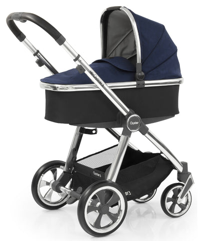 Babystyle Oyster 3 - Rich Navy on Chrome Chassis