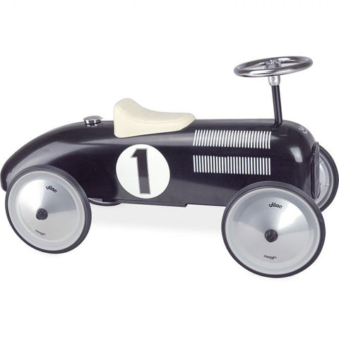 VILAC Classic Ride on Car Black
