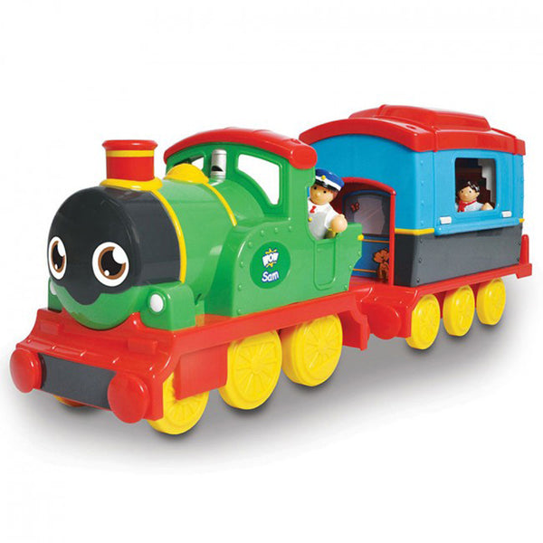 WOW TOYS Sam the Steam Engine