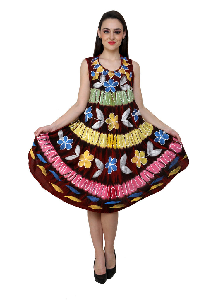 Renka Floral Print Multi color Dress for women