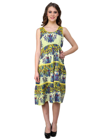 Renka Self Design Multi Color Dress for women