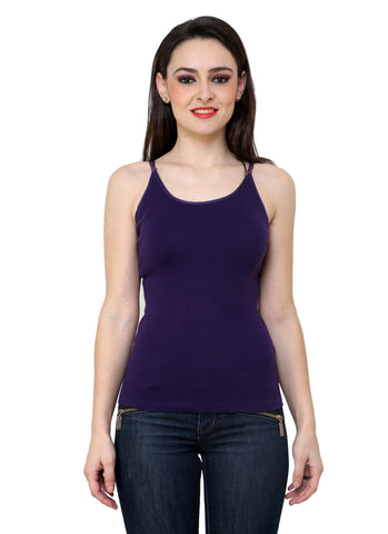 Renka Comfortable Dark move Color Camisole Summer Tank Tops for Women