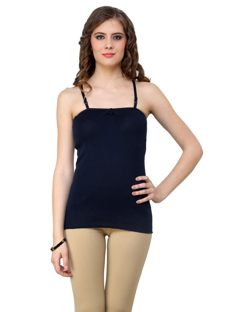 Renka Comfortable,Durable Dark move Color Camisole/Tank Tops for Women-S3-Dk-move
