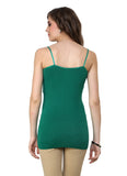 Renka Comfortable Green Color Camisole Summer Tank Tops for Women