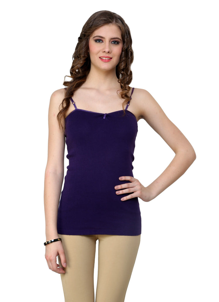 Renka Comfortable Navy Color Camisole Summer Tank Tops for Women