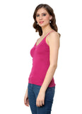 Renka Comfortable Pink Color Camisole Summer Tank Tops for Women (Pack of 2)