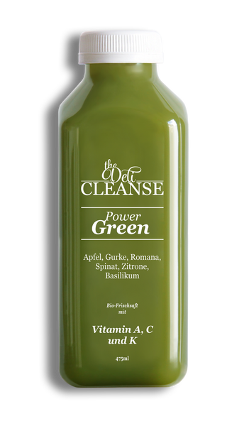 POWEr GREEN 475ml Cold Pressed Juice