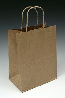 Paper Bags with Handles - Kraft