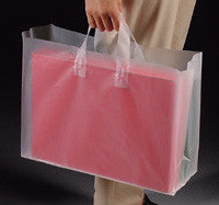 Clear Frosted Tote Bags