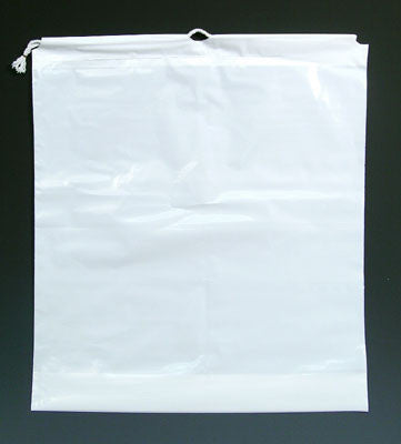 Drawstring Bags - Single Drawstring Clear