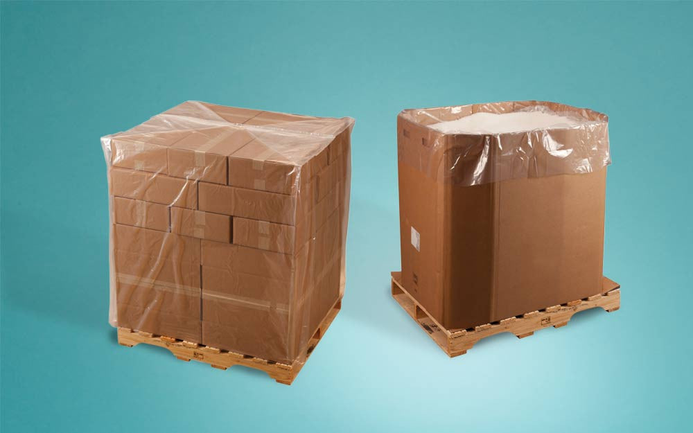 2 MIL - Bin, Drum and Gaylord Liners / Pallet Top Covers