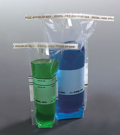 Sterile Sampling Bags with White Block
