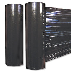 Black Opaque Stretch Wrap
