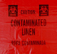Contaminated Linens Trash Liners