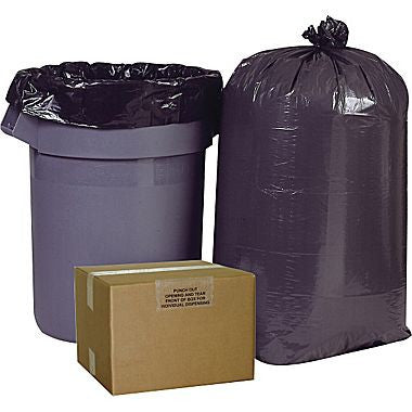 Linear Low Density Trash Bags - 60 Gallon