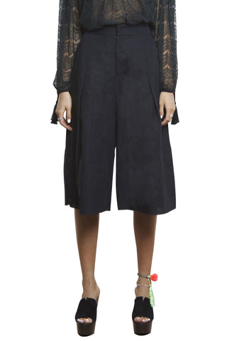 shakuhachi - CRUISE CULLOTE PANTS BLACK - 3