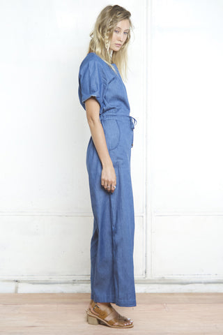 GENIE SAFARI JUMPSUIT DENIM - Shakuhachi - 2