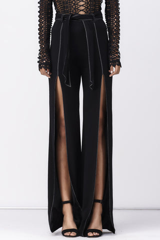 LOVE CHILD FLARE SPLIT PANT