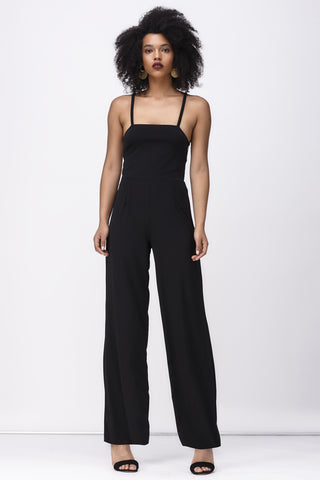 FOOL FOREVER JUMPSUIT - BLACK