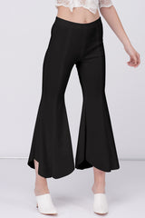 JERSEY BELL BOTTOM - BLACK