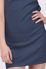 BOOGIE NIGHTS DRESS - NAVY