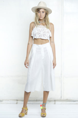 CRUISE CULLOTE PANTS WHITE
