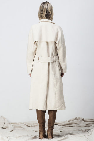 shakuhachi - RAW EDGE TRENCH NATURAL - 2