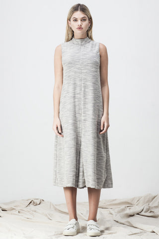 TERRY TURTLENECK JUMPSUIT GREY - Shakuhachi - 3