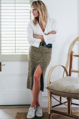 shakuhachi - POPCORN SPLIT TUBE SKIRT - 3