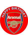 Arsenal Edible topper
