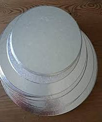 Round Silver Thin Cake Boards  Various Sizes Available