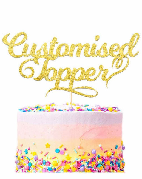 Personlised Cake Toppers