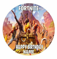 Fortnight Season 8 edible cake topper