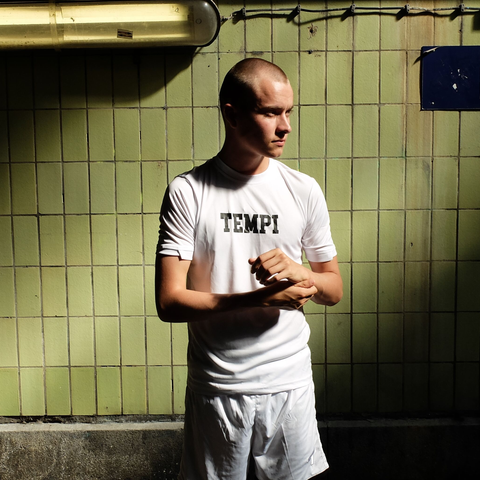 Urban - T-Shirt - White/Black - Tempi