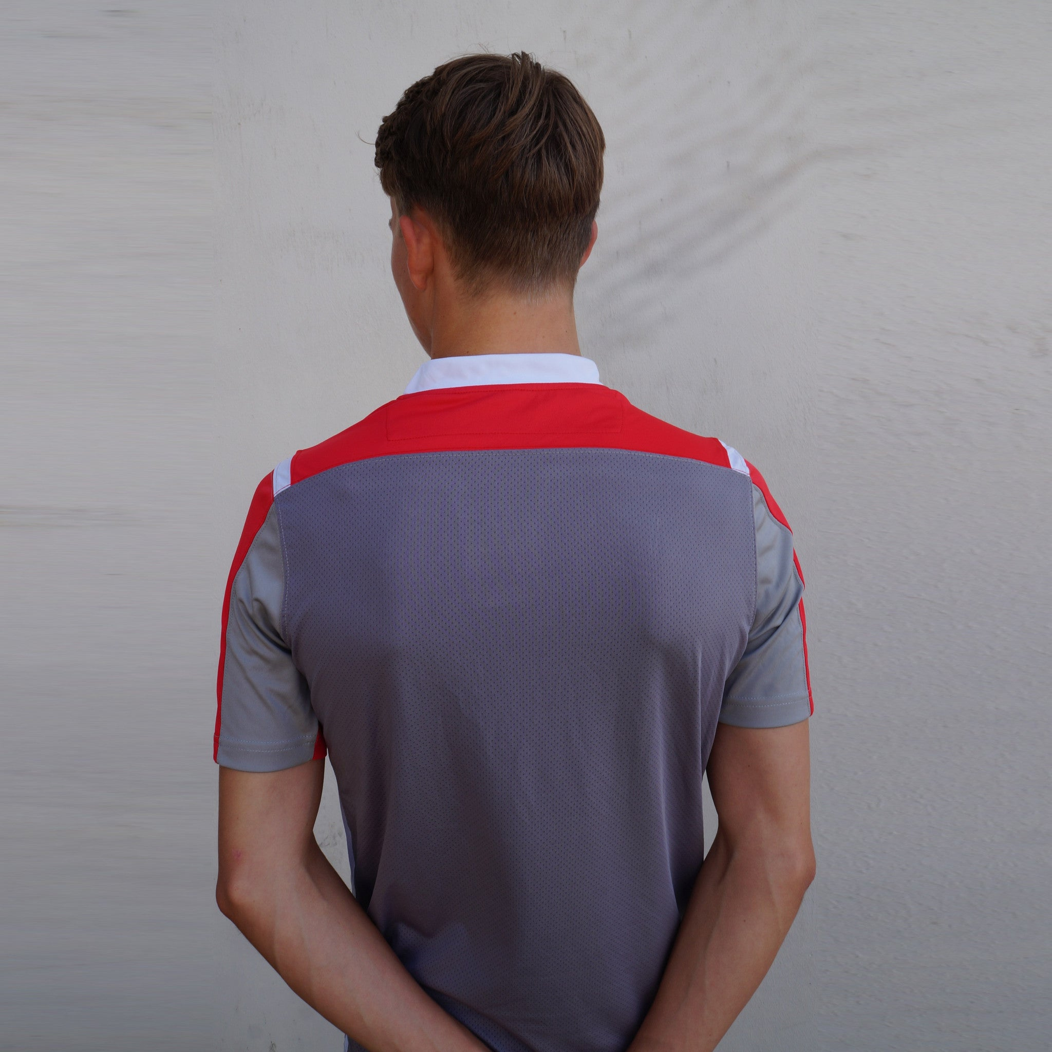 Discipline - T-Shirt - Grey/Red/White - Tempi