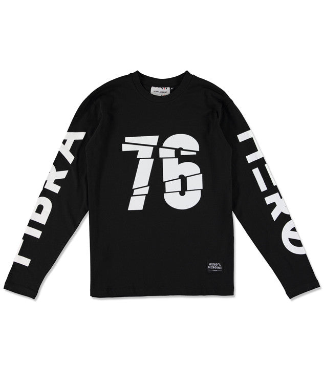 Cracked 76 long-sleeve T-shirt