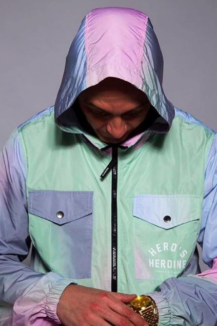 Multicolour Windbreaker
