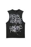 Graffiti Sleeveless T-shirt