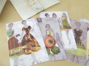 selvedge postcard set (limited edition) / Kristy Bowen
