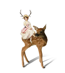 Catalogue Series-Deer Woman Print
