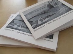 landscape architecture: postcards and principles  (limited editions) / kristy bowen