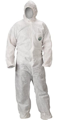 Heavy Duty Polypropylene 2XL Coveralls - 25 Suits