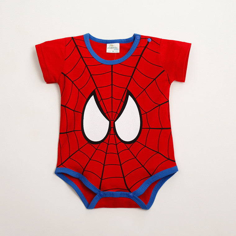 (AI22) Rompers - Spiderman