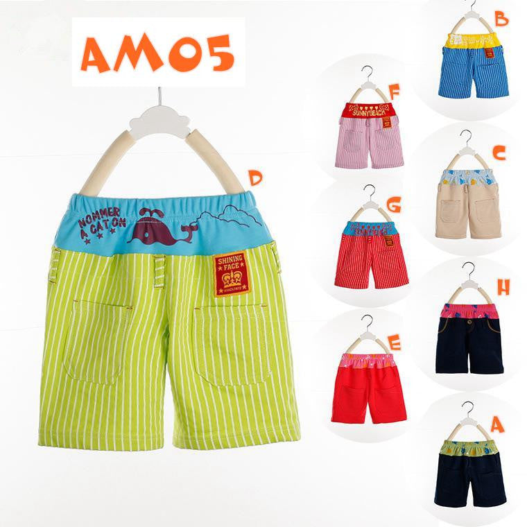 (AM05) Colourful Pants