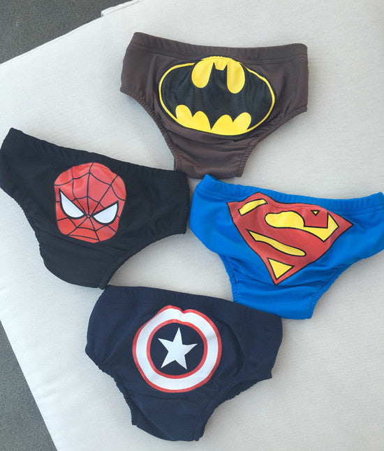 (BC38) Swimming pants - Superheroes