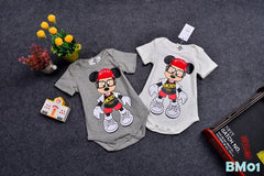 (BM01W) Family Tee - Mickey White