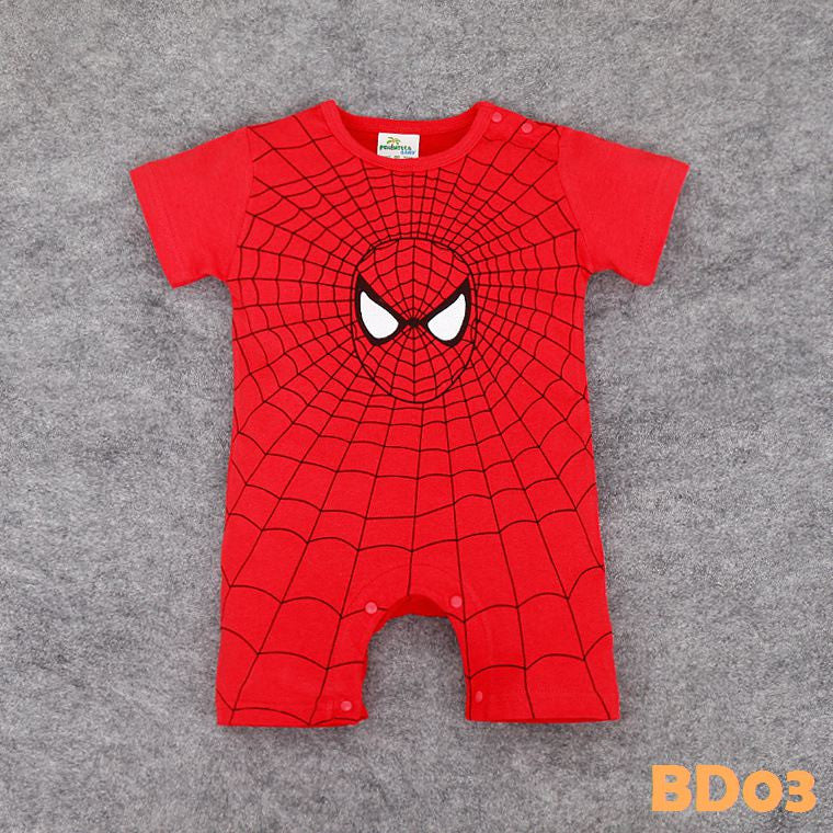 (BD03) Romper - Spiderman