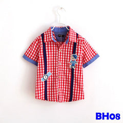 (BH08) Shirt - Red