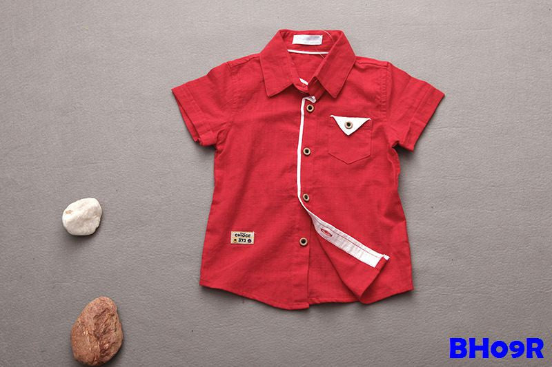 (BH09R) Shirt - Red