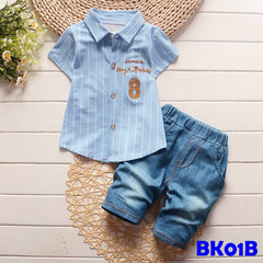 (BK01B) Set - Summer 8 Blue